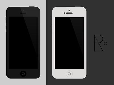 iPhone 5/4S/4 PSD iphone psd free template iphone 5 iphone 4