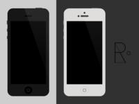 iPhone 5/4S/4 PSD