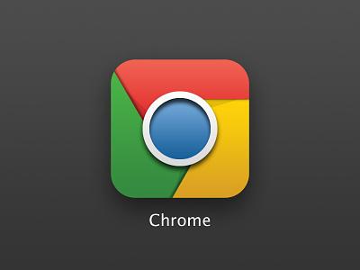 Chrome Icon chrom icon ios