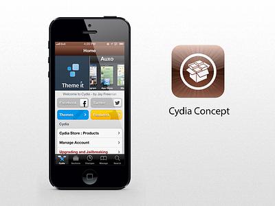Cydia Concept cydia iphone jailbreak