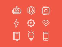 Teen Tech Week Icons