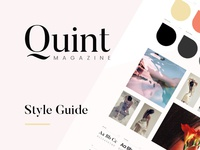 Quint Magazine Style Guide