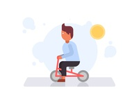 Small Bicycle Illustration