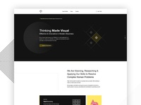 Themis Agency - Home Page Design