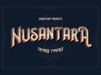 Nusantara Layered Typeface