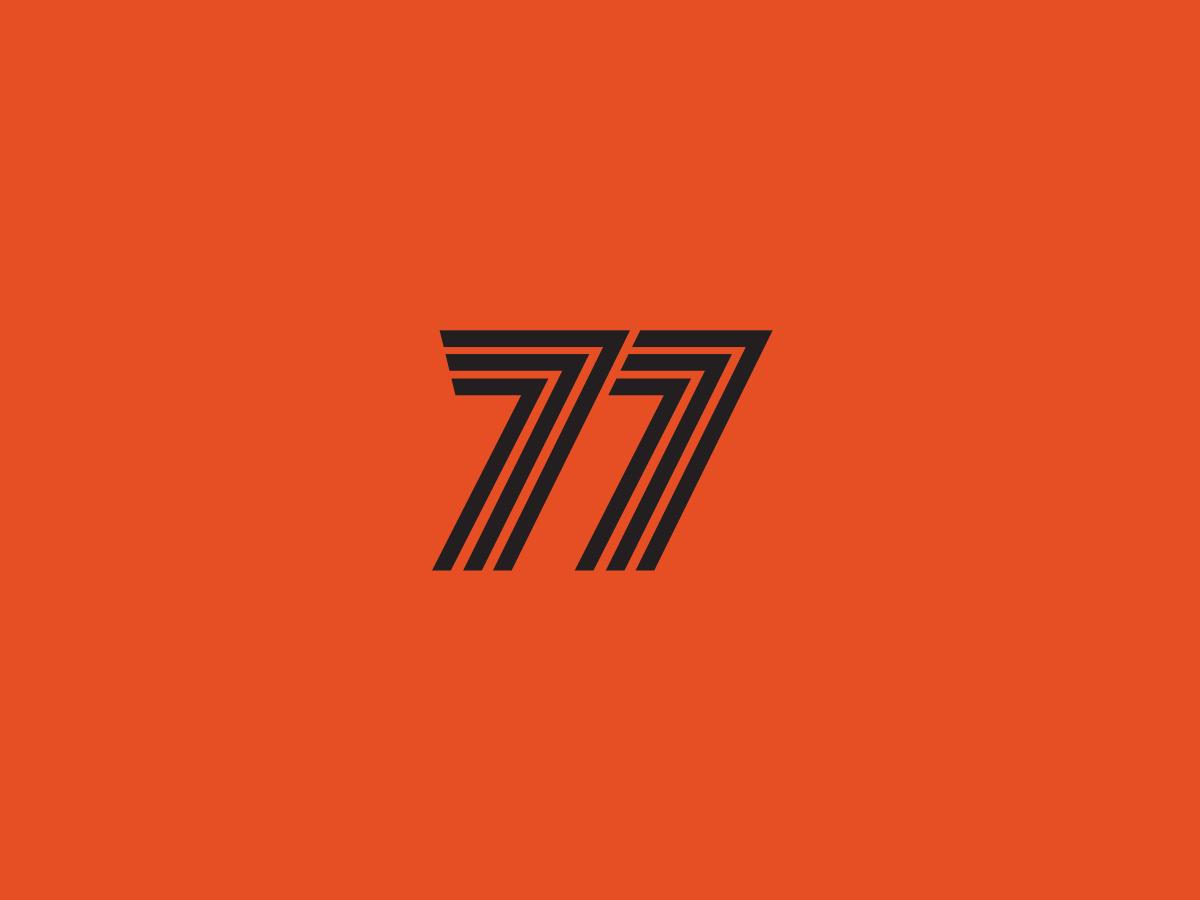 2 7s app ux type branding lettering typography ui design icon vector logo