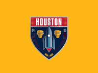 Houston Badge