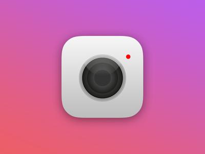 Daily UI: 5:100 - 'Apple Camera App Icon'
