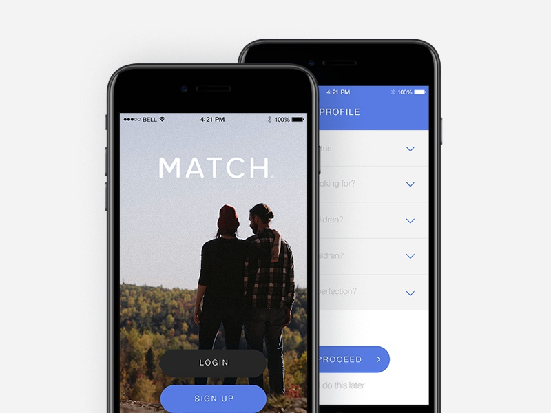 Match login mobile
