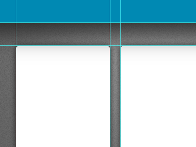 Layout action blue grey grid