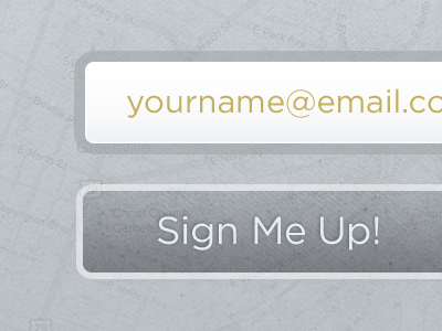 Sign Me Up! button form texture