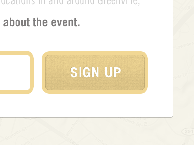 Sign Up button form texture