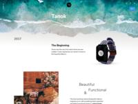 Tanok - Nyloon Watch Band