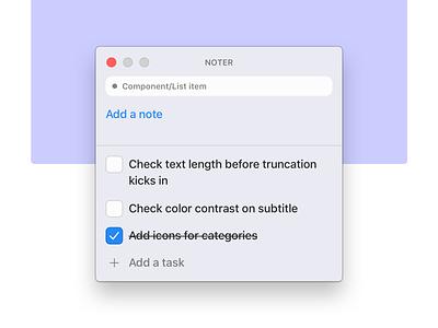 Sketch Plugin Idea tool design artboard comment list checklist task todo note plugin sketch