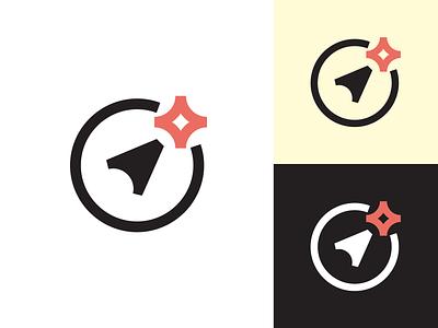 Compass Logo Exploration star north compass icon brand logo