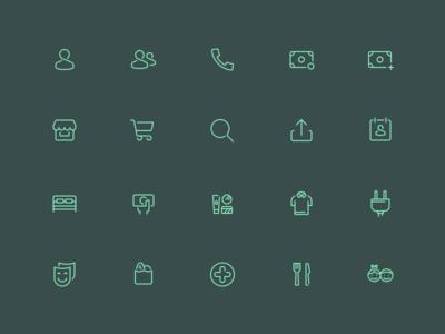 Spenn Icons
