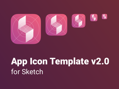 App Icon Template for Sketch v2.0
