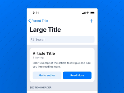 Article: Dark Mode  –  Working with Color Systems app read post medium light mode dark mode