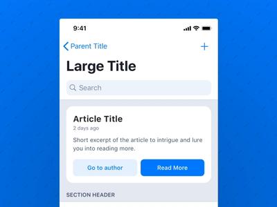Article: Dark Mode – Working with ColorSystems app read post medium light mode dark mode