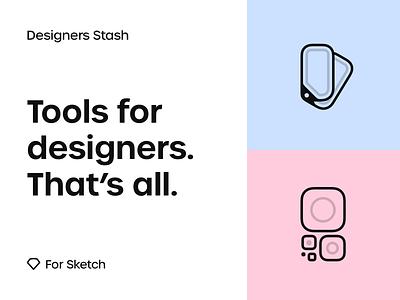 Designers Stash dark mode light dark ui day night scheme color download resource sketch plugin mobile icon app