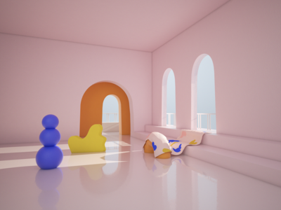 Girls room @lulachristman render c4d design ui cute art shapes cute minimal cinema4d organic 3d illustration