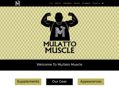 Mulatto Muscle custom wordpress website css html wordpress