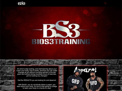 Bios3 Training bodybuilding wordpress