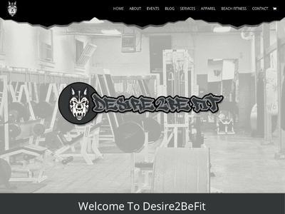 Desire2befit wordpress design wordpress