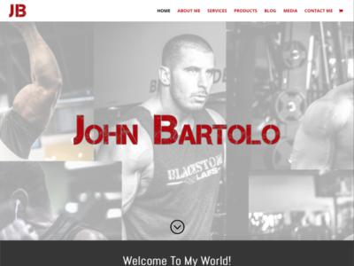 John Bartolo wordpress design wordpress