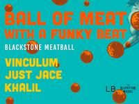 Blackstone meatball poster