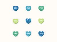 Alaska Airlines Valentine GIFs