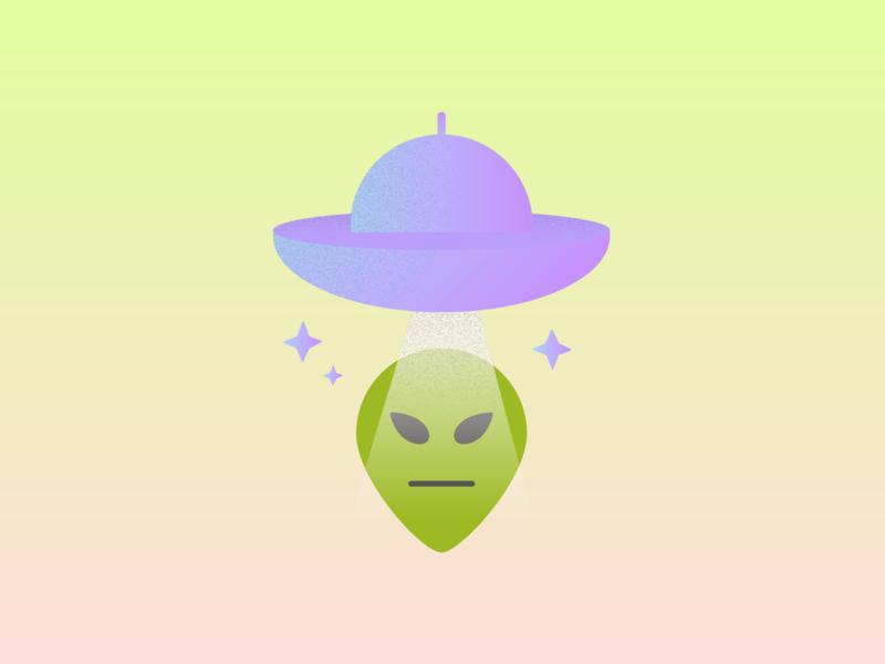 Alien UFO spaceship ufo alien 90s