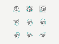 MSFT Office Icons - 3D Feature in PowerPoint