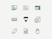Icons for different Office Apps