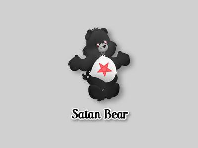Satan Care Bear
