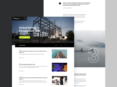 Baker Tilly - Insights layout web article website editorial design
