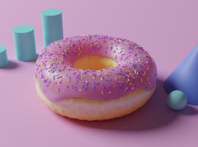 Donut - 3D Model