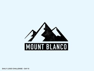 Logo Challenge 08 - Ski Mountain