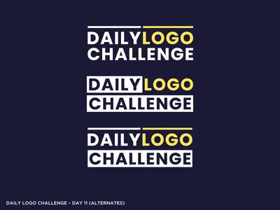 Logo Challenge 11 - Alternate Ideas