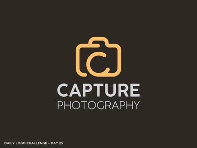 Logo Challenge 25 - Photography
