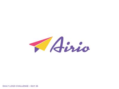Logo Challenge 26 - Paper Plane