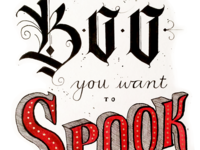 Be the Boo You Want to Spook in the World