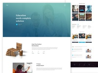 Education Landing Page.
