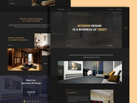 Dark Version Interior Design.