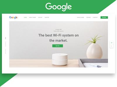 WIP Google Wifi. home product googlewifi google gmail shot best dribbble page landing app