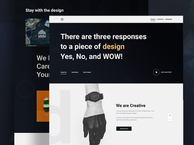 Creative Design Concept ux ui typography template gradient google gmail explore design creative color