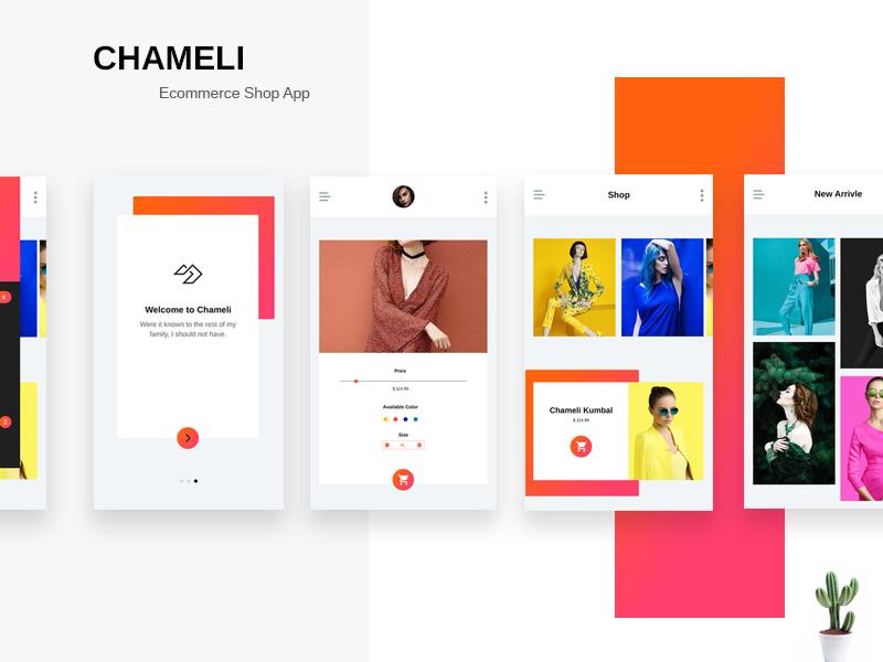 Chameli Sho App trendy app themes theme templates template shopify e-commerce ecommerce