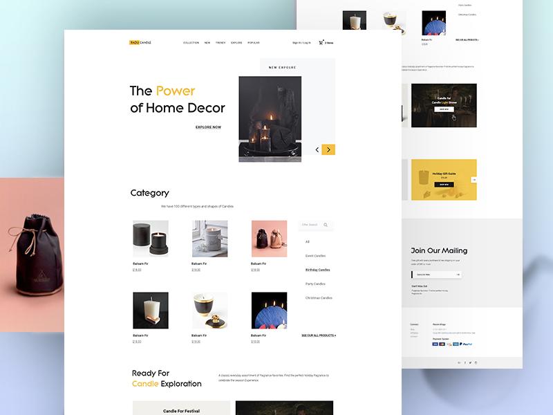 Web UI Exploration webdesign ux ui template sunglass product oakley new minimal landingpage e-commerce