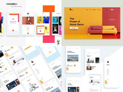 Top Shot 2018 :) best e-commerce product app agency webdesign minimal dribbble web landing website creative design ux template ui