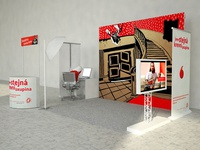 Vodafone – expo stand